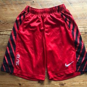 Boys Nike Elite Shorts
